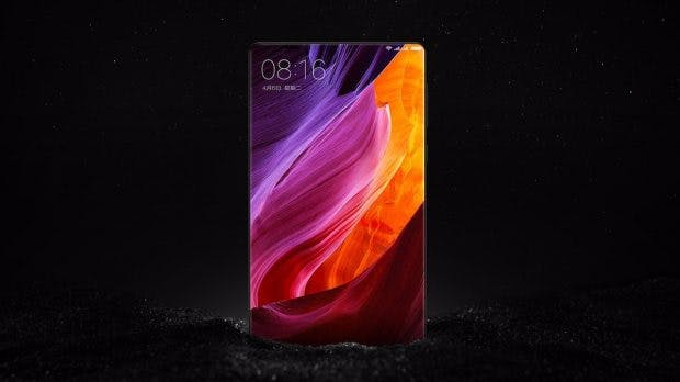 Rubin könnt sich beim Design des Essential-Phones am Xiaomi Mi Mix orientieren: Wenig Rahmen, viel Display. (Bild: Xiaomi)