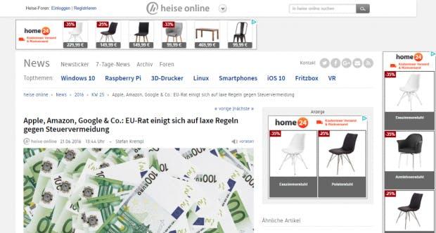 personalisierung einer der wichtigsten conversionhebel im e commerce t3n. Black Bedroom Furniture Sets. Home Design Ideas