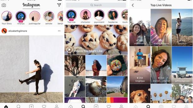 Nach Facebook Live: Instagram startet jetzt auch mit Live-Videos