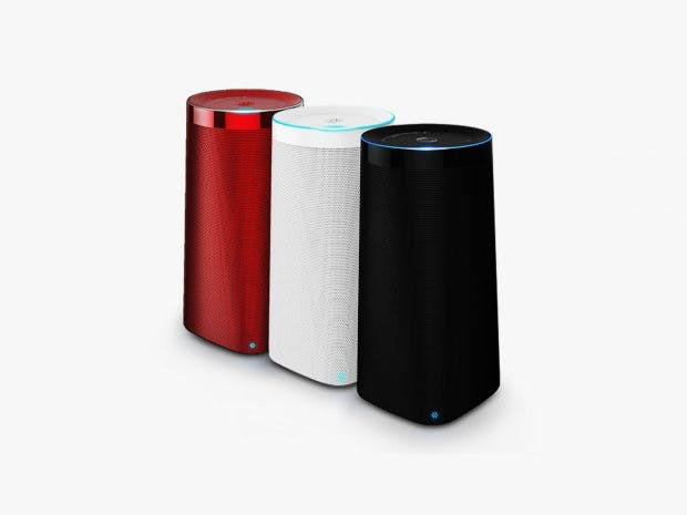 Erinnert an Amazon Echo: Die smarte Box Linglong Dingdong aus China. (Bild: Beijing Linglong, via Wired)