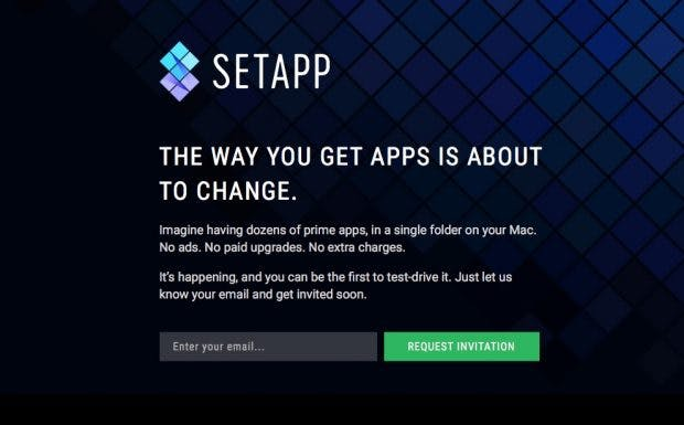 Netflix für Mac-Apps: Kann Setapp sich als Alternative zum Mac App Store entwickeln? (Screenshot: Setapp/t3n)