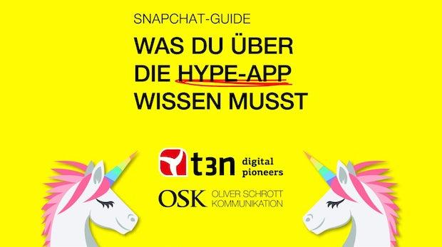 Sichere dir unseren kostenlosen Snapchat-Guide