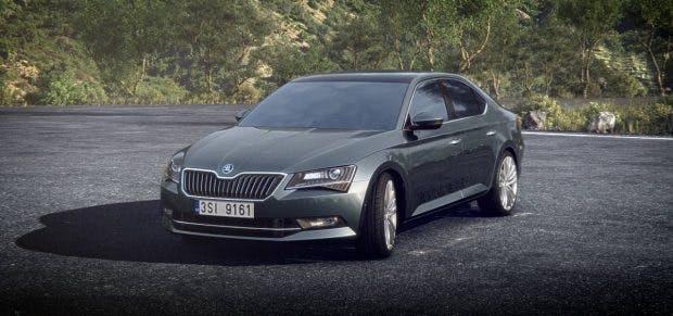 Elektroauto: Skoda will den Superb 2019 als Plug-in-Hybrid auf den Markt bringen. (Bild: Skoda)