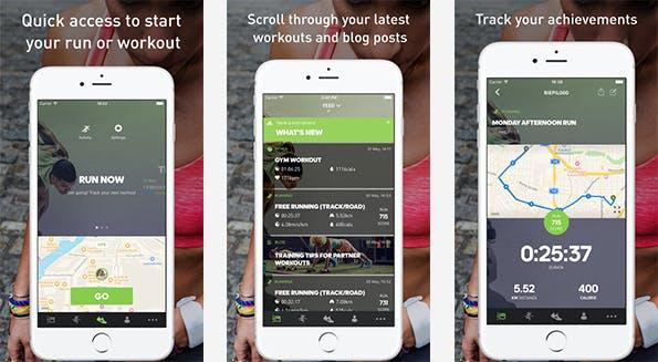 Die Anwendung von Adidas legt den Fokus auf die Motivation des Nutzers. (Bild: iTunes)