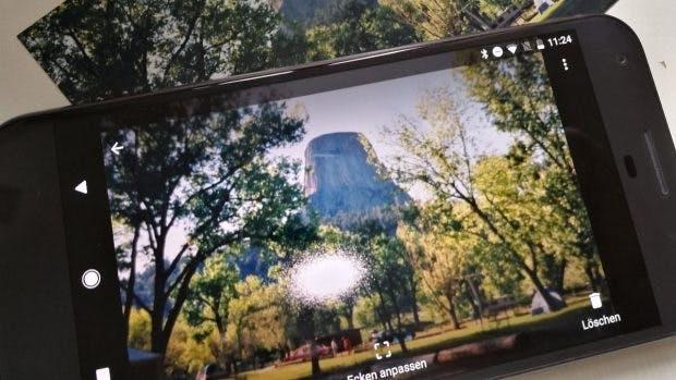 Alte Fotos digitalisieren per Google Fotoscanner: erwartet keine Wunder. (Foto: t3n)