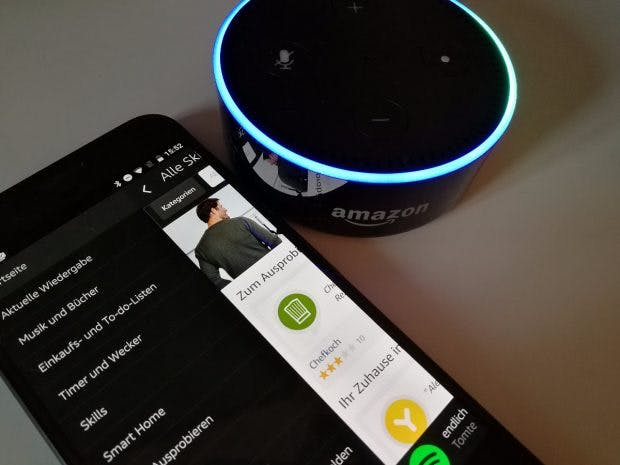 Amazon Echo (Dot). (Foto: t3n)