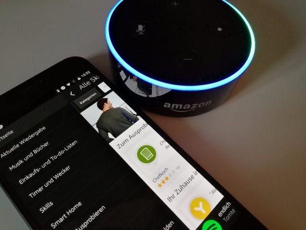 Amazon Echo (Dot). (Foto: t3n)