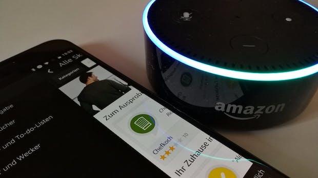 Amazon: Alexa-Sprachsteuerung kommt per App auch auf Smartphones