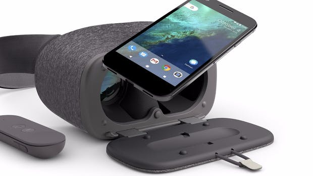 Daydream View: Googles Virtual-Reality-Headset im Test