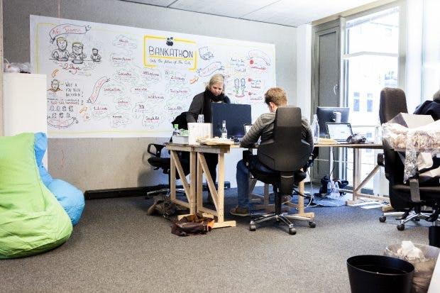 """Figo versteht sich als das """"Dropbox für Finanzen"""". (Foto: Leonard Kroener)"""
