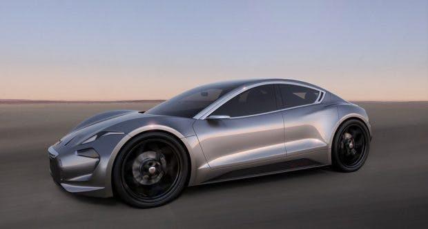 Neue Tesla-Konkurrenz im Luxus-Elektroauto-Bereich: Fisker Emotion. (Bild: Fisker)