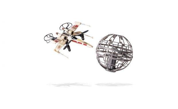 Welcher Geek träumt nicht von einer Drone in Form eines X-Wing? (Foto: ThinkGeek)
