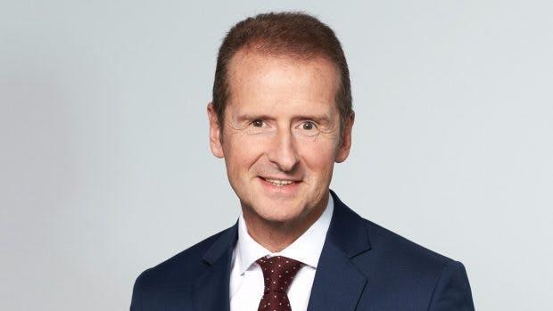 VW-Markenchef Herbert Diess will den Konzern auf Elektromobilität drehen. (Foto: Volkswagen)