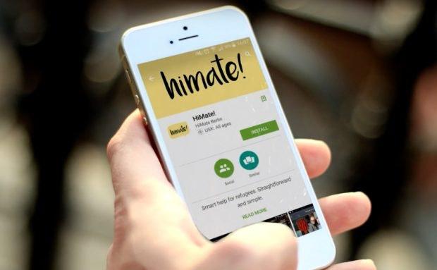 Gegen die Isolation von Flüchtlingen: Über die HiMate-App an Veranstaltungen teilnehmen. (Foto: HiMate)