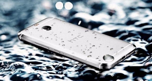 Immerhin ist das HTC 10 evo wasser- und staubresistent. (Bild: HTC)