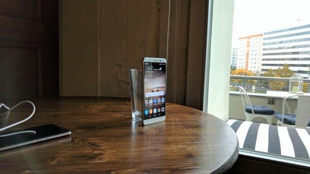 Das Huawei Mate 9 – große, edel, schneller als als andere Huawei-Geräte. (Foto: t3n)