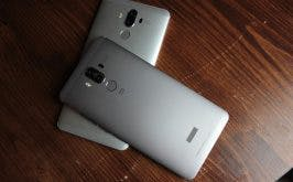 Ganz Business: Das Huawei Mate 9 wird in recht konservativen Farben angeboten. (Foto: t3n)
