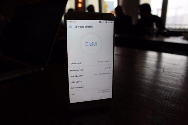 Das Huawei Mate 9 ist das erste Modell mit EMUI 5.0. (Foto: t3n)