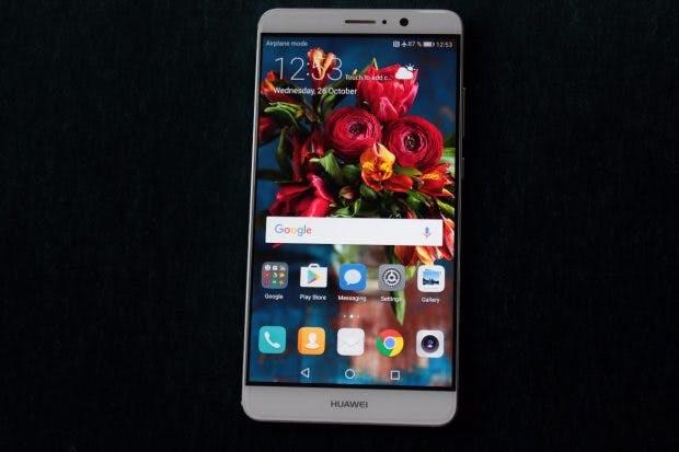 Das Huawei Mate 9 kommt mit Android 7.0 und EMUI 5.0. (Foto: t3n)