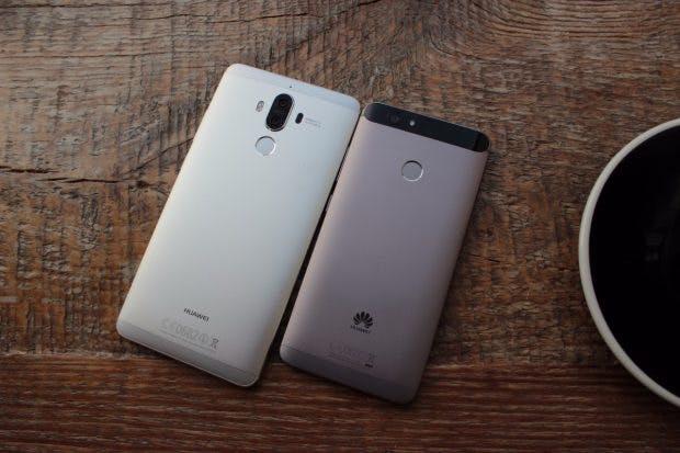 Huawei Nova und Mate 9 im Größenvergleich. (Foto: t3n)
