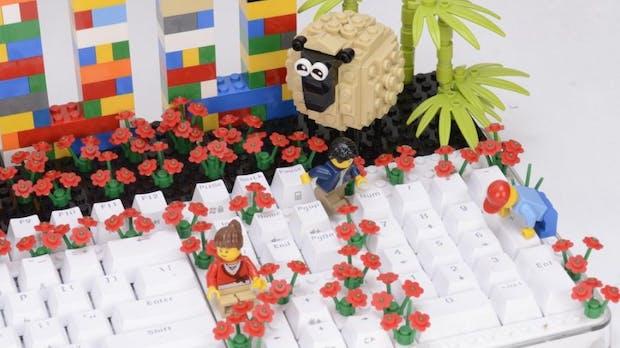 Aus Gründen: Dieses mechanische Keyboard ist Lego-kompatibel