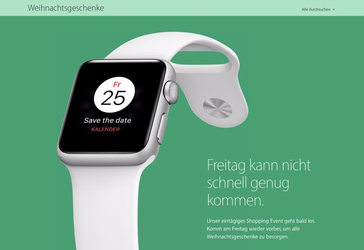 Black Friday 2016: Schnäppchenjagd bei Apple höchstens mit Geschenkkarten