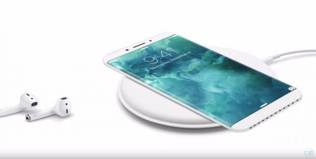 iPhone-8-Konzept: Wenig Rahmen, kabellos aufladbar. (Bild: ConceptiPhones)