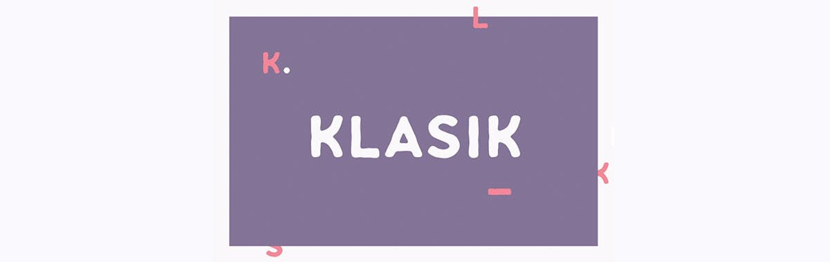 Klasik Sans Free Typefamily. (Screenshot: freedesignresources.net)
