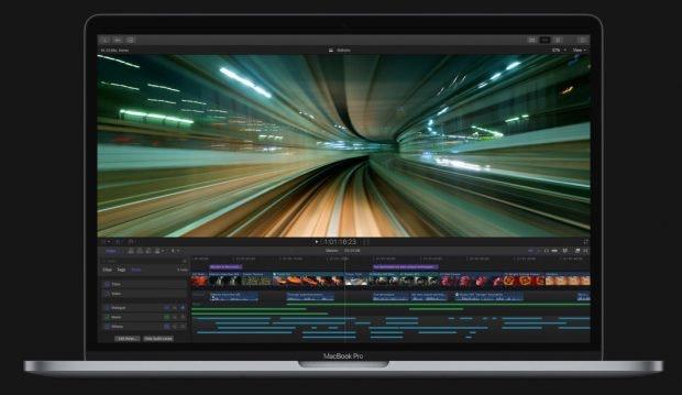 Je nach verwendeter Software ändern sich die auf der Touch Bar angezeigten Funktionen. (Foto: Apple)