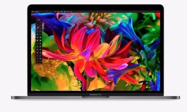 Besonders das Display im neuen MacBook Pro konnte uns im Test überzeugen. (Foto: Apple)