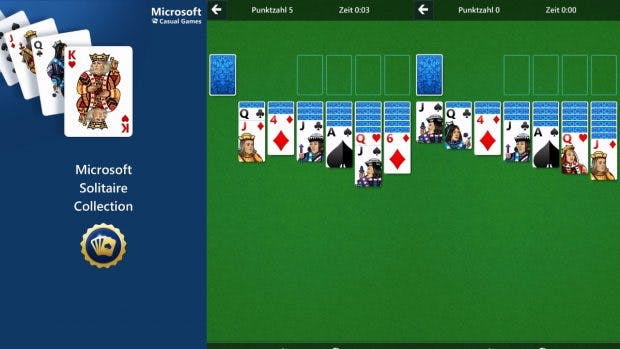 Microsoft bringt Solitaire auf Android und iOS. (Screenshot: Microsoft Solitaire Collection)