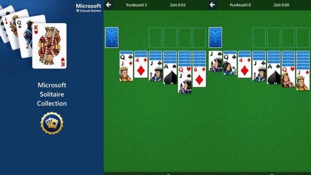 Microsoft bringt Solitaire auf Android und iOS. (Screenshot: Microsoft Solitaire Collection)