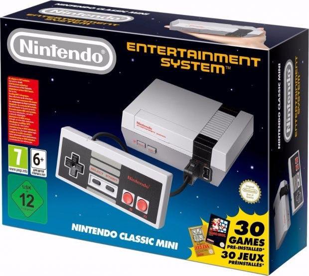Nintendo Classi Mini. (Foto: Nintendo)