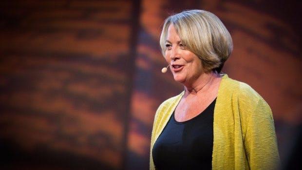 Patty McCord ist die Architektin von Netflix Unternehmenskultur und prägte damit das gesamte Silicon Valley. (Screenshot: Youtube-TED Institute)