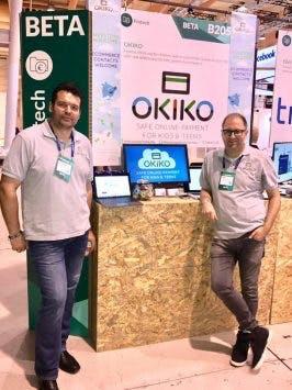 Die Okiko-Gründer Sebastian Leppert und Erik Winterberg. (Foto: Okiko/facebook)