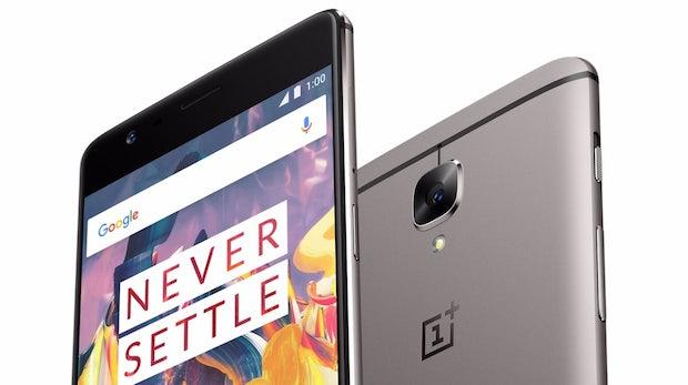 Oneplus 3T ist offiziell: Das hat das neue High-End-Smartphone unter der Haube