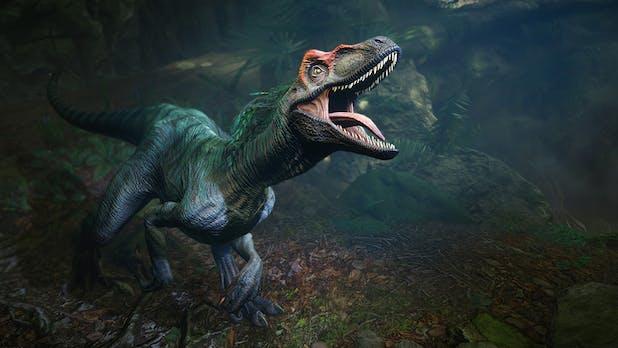 """Mit Dinosauriern in die virtuelle Realität: Was die VR-Branche vom Dinospiel """"Robinson: The Journey"""" lernen kann"""