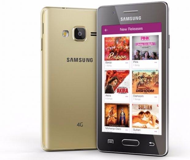 Das Samsung Z2 ist das zuletzt vorgestellte Smartphone mit Tizen. (Bild: Samsung)