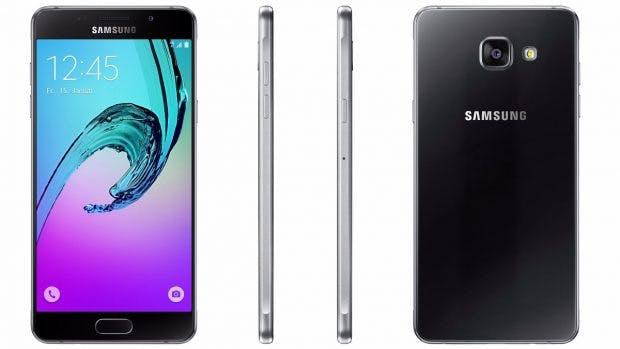 Das Samsung Galaxy A5 (2016). (Bild: Samsung)