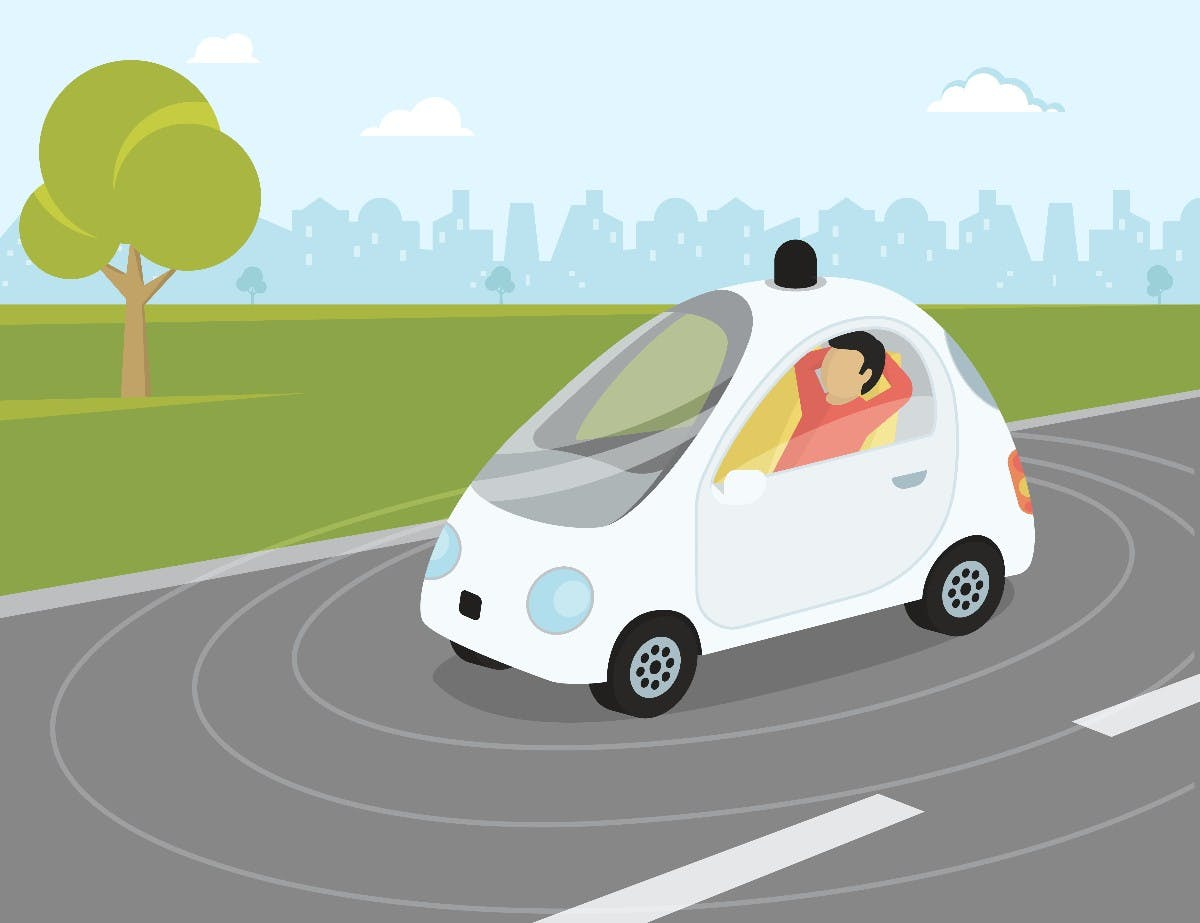 88 Mal zur Sonne und wieder zurück: So lang müsste die Teststrecke für autonome Autos sein