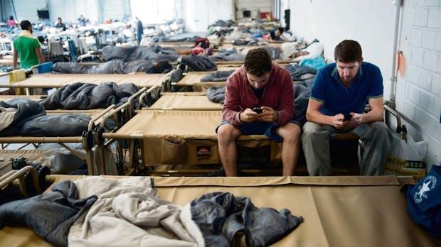 Vom Flüchtlingsheim zurück ins Leben: Wie dieses Startup Integration vorantreibt