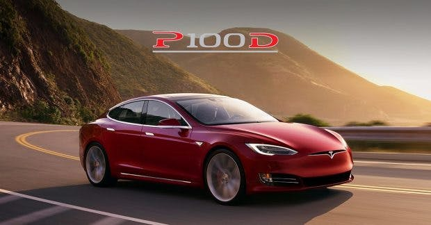 Tesla: Das Model S P100D kommt jetzt noch schneller vom Fleck weg. (Foto: Tesla Motors)