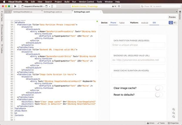 Microsoft stellt Visual Studio for Mac vor. (Screenshot: Microsoft)