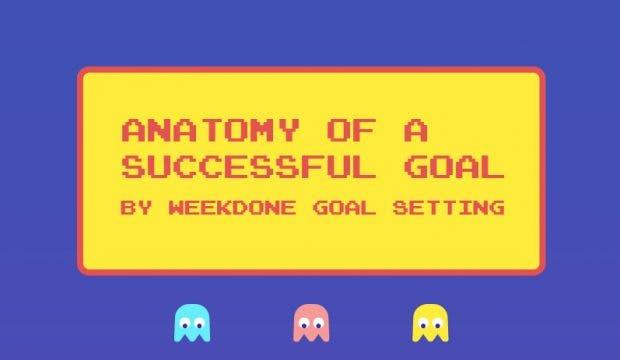 Infografik: So setzt ihr euch richtig eure Ziele. (Grafik: Weekdone)