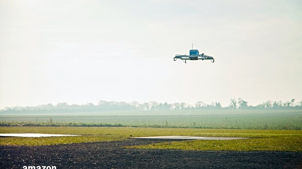 Paketlieferungen per Drohne – Amazon hat sein Versprechen nicht gehalten