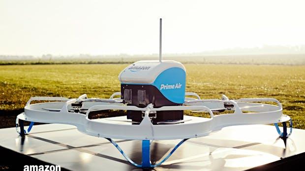 Amazon: Erste Bestellung per Drohne erfolgreich ausgeliefert – in nur 13 Minuten