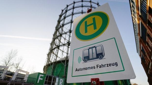 Autonom fahrende Busse: Deutsche Bahn startet Testfeld in Berlin