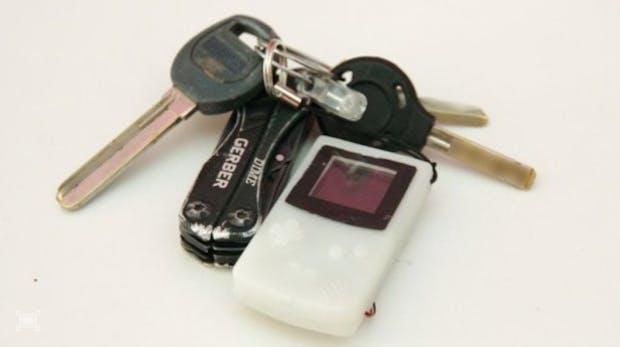 Game Boy im Miniformat: Mit diesem Schlüsselanhänger kannst du Tetris spielen