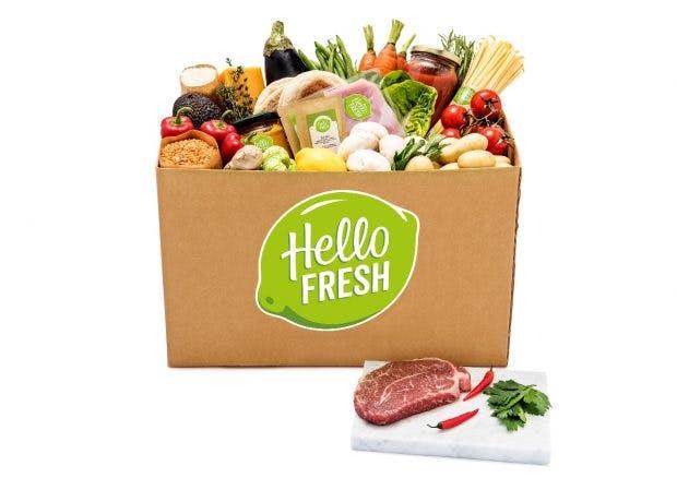 Das Berliner Startup Hellofresh hat sich einen Namen mit Kochboxen gemacht. Die Abonnenten finden darin alle Zutaten für ein Gericht in Portionsgröße sowie ein Rezept mit Kochanweisungen. (Foto: Hellofresh)