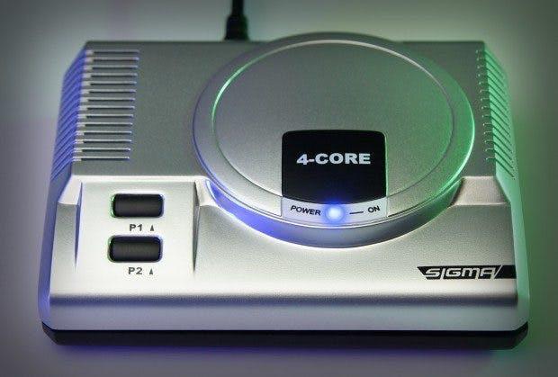 Mit der Mini-Konsole Sigma lassen sich Games von 28 Systemen spielen. (Bild: Indiegogo/Doyodo)